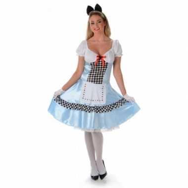 Alice jurk en zwarte strik tiara