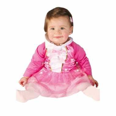 Baby prinsessenjurk roze