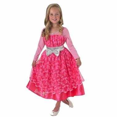 Barbie jurkje roze voor kinderen