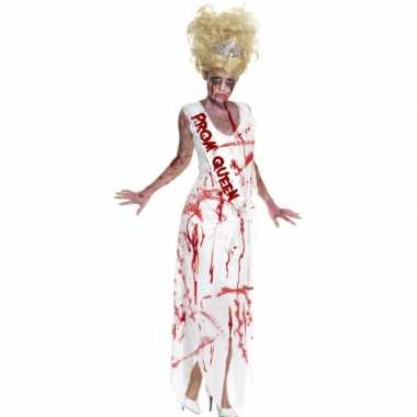 Bloederige prom queen jurk