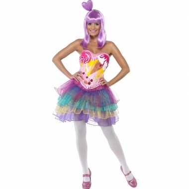 Candy queen kostuum voor dames