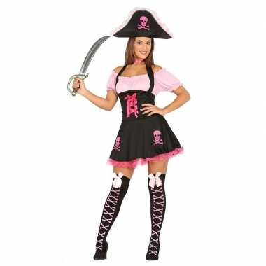 Carnavalskleding piraten jurk voor dames