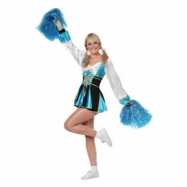 Cheerleader jurkjes aqua vrouwen