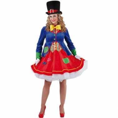 Clown verkleedkostuum voor dames