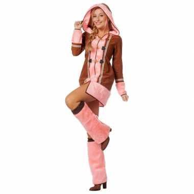 Compleet eskimo kostuum voor dames