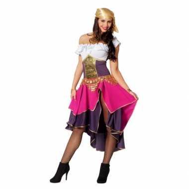 Compleet zigeunerin kostuum voor dames