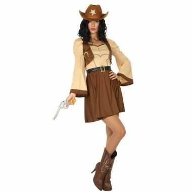Cowgirl cassidy western kostuum voor dames