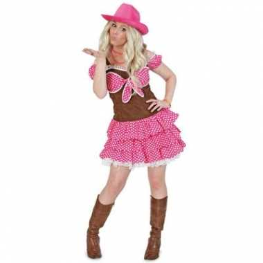 Cowgirl dolly kostuum dames
