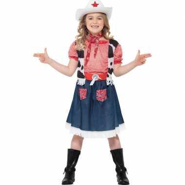 Cowgirl kostuum meisjes