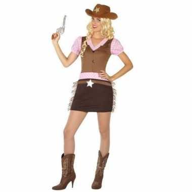 Cowgirl kostuum voor dames