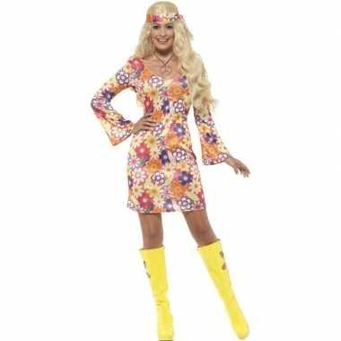 Dames hippie sixties jurkje