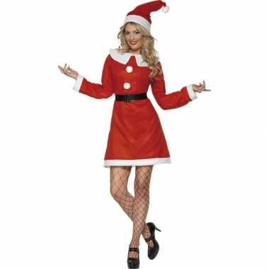 Dames kerstjurk rood