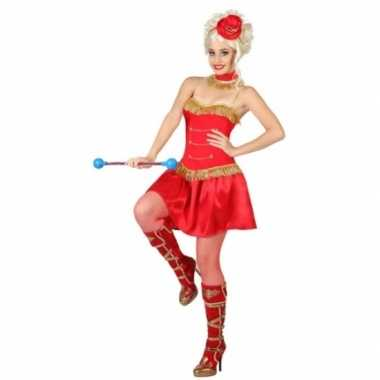 Dansmarieke jurkje rood voor dames