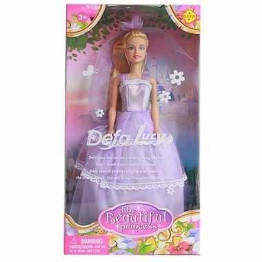 Defa lucy pop met lila prinsessenjurk