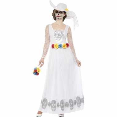 Dia de los muertos trouw kleding