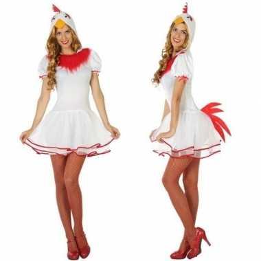 Dieren kippen verkleed jurkje voor dames