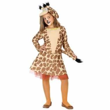 Dieren verkleedjurkje giraf