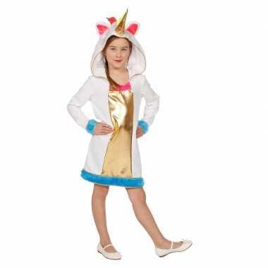 Eenhoorn dieren jurkje voor meisjes