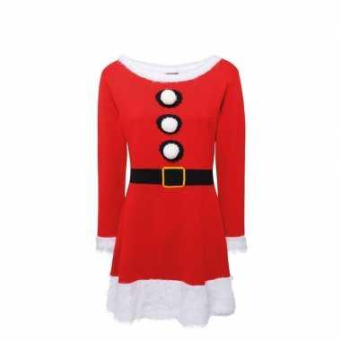 Gebreid kerst jurkje voor dames