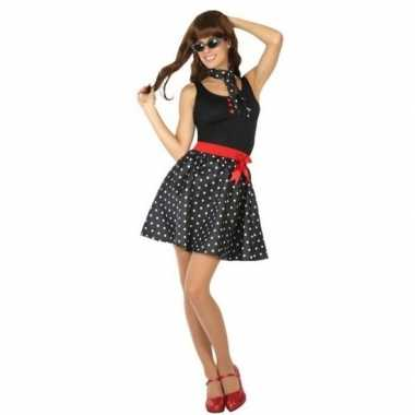 Goedkope fifties verkleed jurkje voor dames