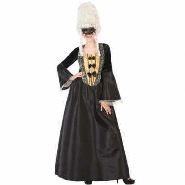 Goedkope markiezin verkleed jurk voor dames