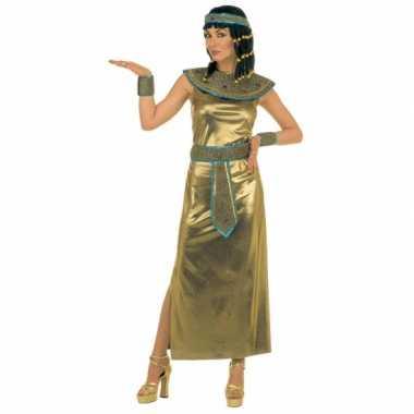 Gouden egyptische jurk