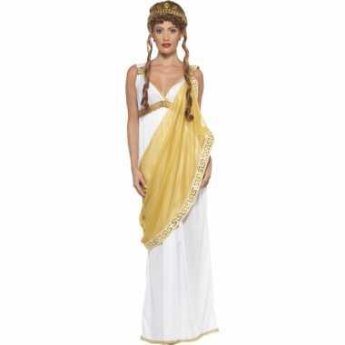 Griekse/romeinse dame verkleedoutfit/jurk voor dames