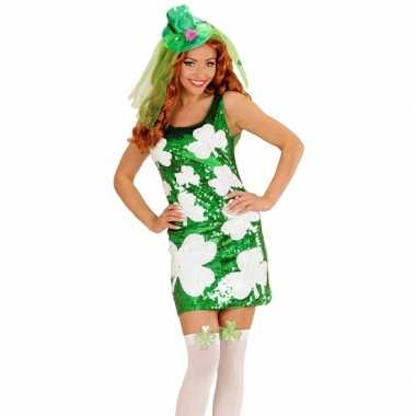 Groene st patricks day outfit voor dames