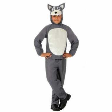 Grote boze wolf kostuum voor kinderen