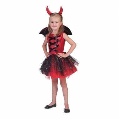 Halloween verkleed jurkje duivel