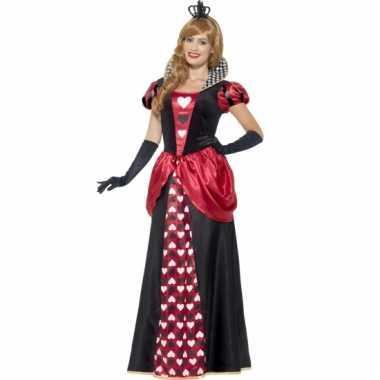 Hartkoningin kostuum voor dames
