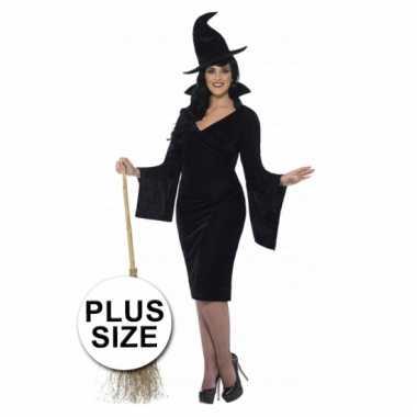 Heksen jurk voor grote dames