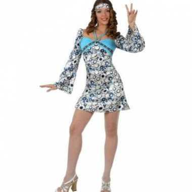 Hippie jurkje met sjaaltje voor dames