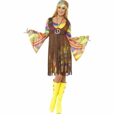 Hippie verkleedkleding voor dames