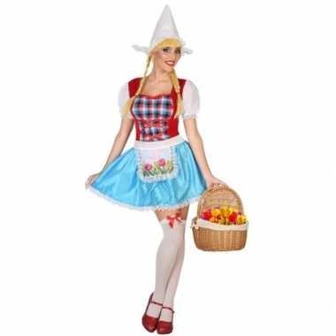 Hollands meisje kostuum voor dames 3-delig