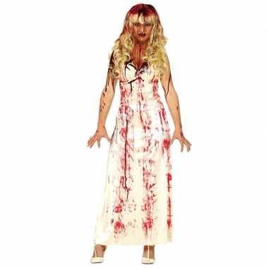 Horror verkleedjurk met bloedvlekken