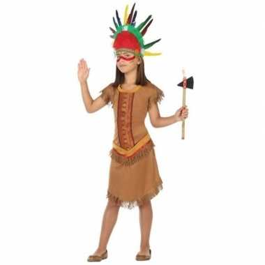 Indianen kostuum jurkje voor meisjes