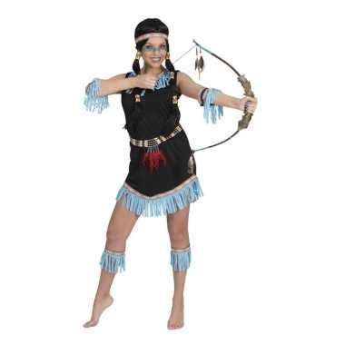 Indianen verkleed jurkje amadahy voor dames