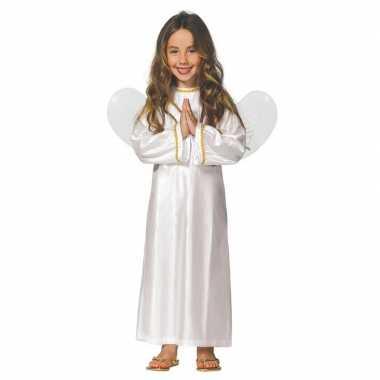 Kerst engelen kostuum met vleugels voor meisjes