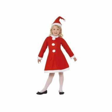 Kerstmis jurk inclusief muts