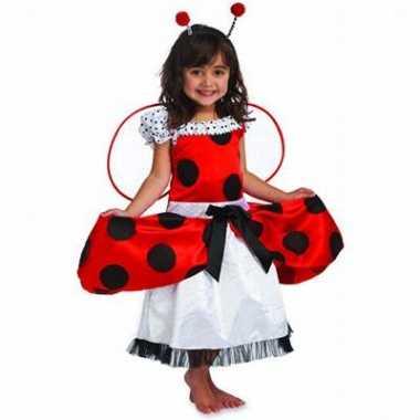 Lieveheersbeestje kinder kostuum