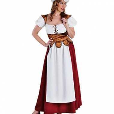 Middeleeuwse boerderij jurk