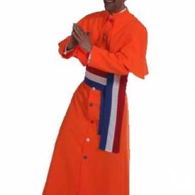 Oranje kardinaal kostuum