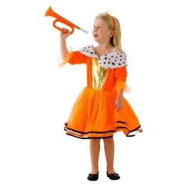 Oranje koninginnen kleding voor meiden