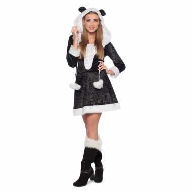 Panda dieren jurk voor dames