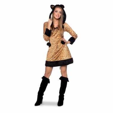 Panter dieren jurk voor dames