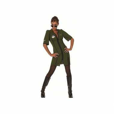 Piloten kostuum voor dames