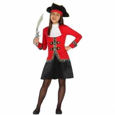 Piraat dolores verkleedjurk voor meisjes