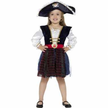 Piraten jurkje met glitters voor meisjes