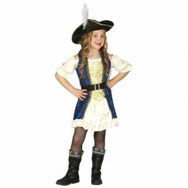 Piraten kapitein jurk voor meisjes